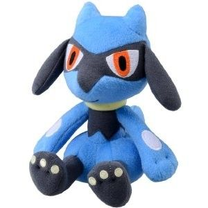Tomy Pokemon Riolu Plush Stuffed Pokedoll 7 Soft Toy Doll Plushie N41