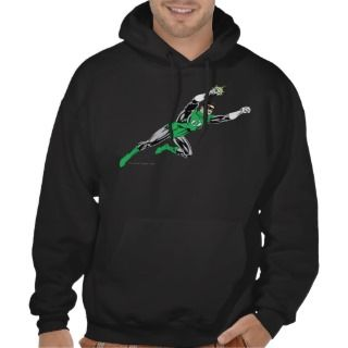 Green Lantern Fly Right Hoodies