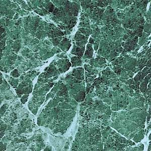 Green Marble Vinyl Floor Tile 20 Pcs Adhesive Flooring   Actual 12 x