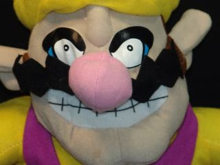 RARE 2004 NINTENDO SUPER MARIO BROTHERS WARIO PLUSH STUFFED ANIMAL TOY