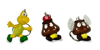 Set Nintendo Super Mario Bros Figure Key Chain 11pcs M103