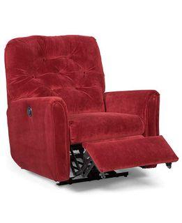 Fabric Power Recliner Chair, 36W x 35D x37H   furniture