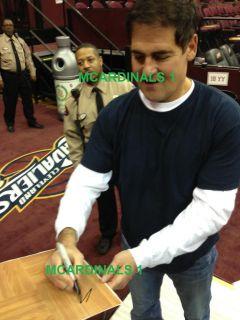 2012 13 DALLAS MAVERICKS Team Signed Autographed Basketball COA PROOF