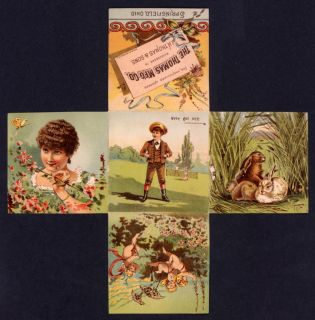 Thomas Manufacturing Co Fold Out Advertising Card 0774