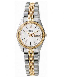 Pulsar Watch, Womens Stainless Steel Bracelet PXX006   All Watches
