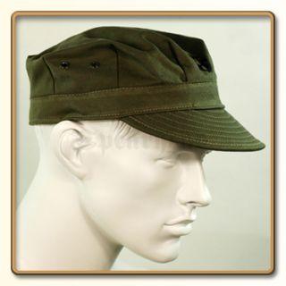 WW2 US Marine Corps Green HBT Utility Cap 57