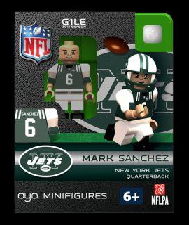 Mark Sanchez OYO Mini Fig Figure Lego Compatible New York Jets NIP