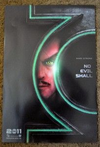 Green Lantern Movie Poster Mark Strong SDCC Wondercon