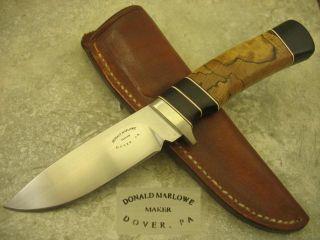 Beautiful Marlowe Custom Knife