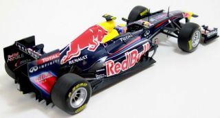 2011 Mark Webber Red Bull Racing RB7 118 Scale Diecast by Minichamps