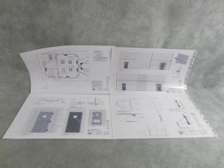 SGA Stargate Atlantis Production Used Concept Art Configuration Plans