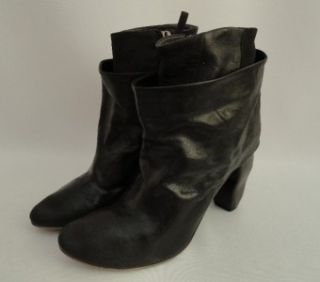 BN Marsell Black Leather Ankle Boots Shoes UK5 EU38, RRP 690GBP, save