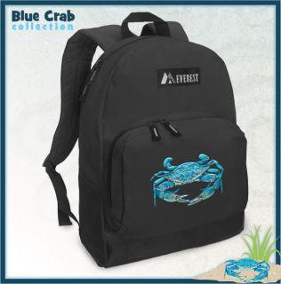 Unique Blue Crab Backpack Blue Crab Backpacks Bags