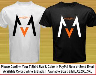 Hot New Maroon 5 Logo Music Concert T Shirt Tee Size s M L XL XXL XXXL