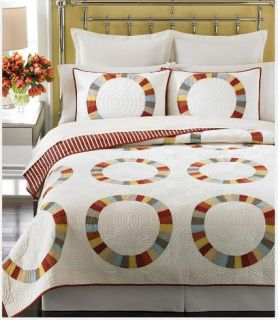 Martha Stewart Reflection Reversible Quilt King