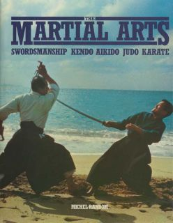 Martial Arts Book Swordmanship Kendo Aikido Judo Karate