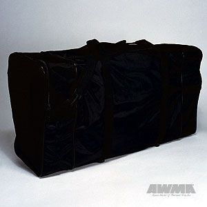 Martial Arts Tournament Bag Equipment Gear Plain Black