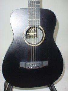 Martin LX Black Little Martin Acoustic Guitar w Original Gig Bag