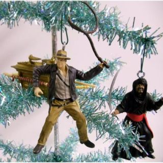 Indiana Jones Christmas Tree Ornaments Marion Ravenwood Sallah German