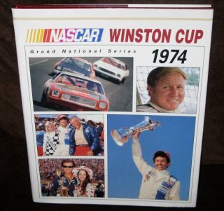NASCAR Winston Cup Grand National Series Yearbook 1974 HC w DJ