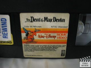 Devil Max Devlin The VHS Elliot Gould Bill Cosby
