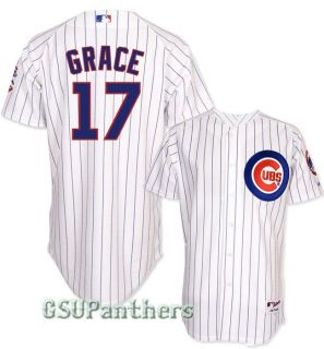 Mark Grace Chicago Cubs Authentic on Field Home Jersey Sz 40 52