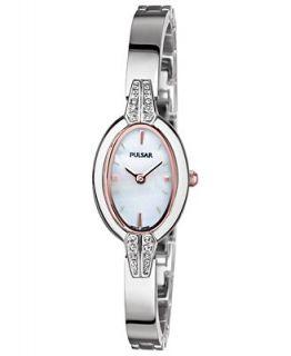 Pulsar Watch, Womens Stainless Steel Bracelet 19mm PEGG15