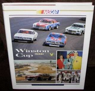 NASCAR Winston Cup Grand National Series Yearbook 1977 HC w DJ