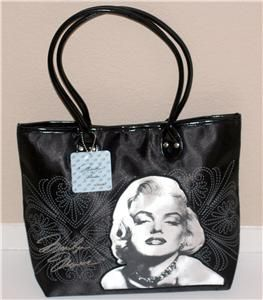 Marilyn Monroe Hollywood Star Tote Handbag Bag New