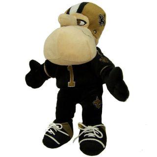 New Orleans Saints Official Logo 8 Sir Saint Mascot Plush Toy
