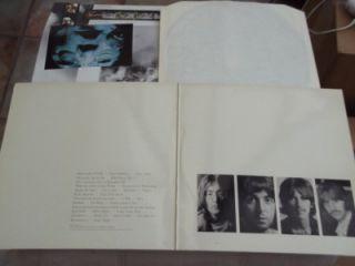 The Beatles White Album Double 12 Vinyl Record LP