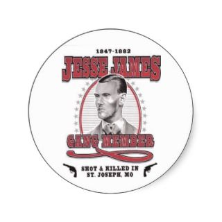jesse james stickers