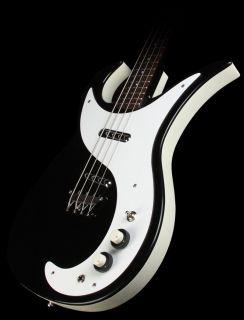 Wild Thing Electric Bass Guitar Masonite Rosewood Bridge Black