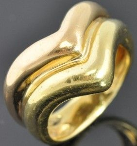 ring by Buzio Massaro crafted from solid 18K yellow & rose gold