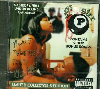 Master P Ghettos Tryin to Kill Me SEALED 97 2nd Press G Funk Rap CD