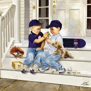 Masterpieces Joys of Childhood Trade Deadline Jigsaw Puzzle 1000 PC