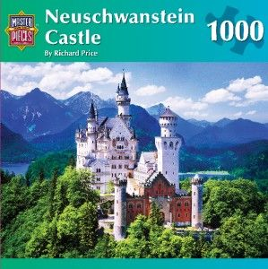 Masterpieces Richard Price Neuschwanstein Castle Jigsaw Puzzle 1000 PC