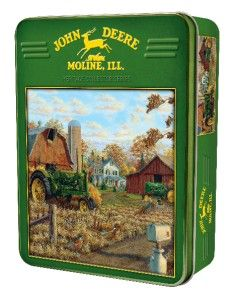 Masterpieces John Deere Autumn Gold Tractor Jigsaw Puzzle 1000 PC