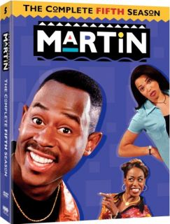 Martin Complete Season 5 New SEALED 4 DVD Set