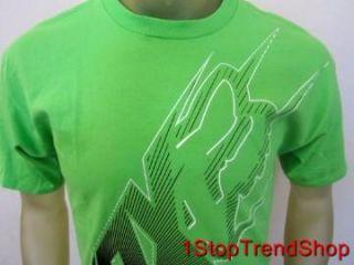 Fox Racing Co Shirt Mens Short Sleeve Neon Green Size XL