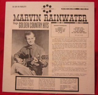 MARVIN RAINWATER lp NM golden country hits WADE HOLMES vinyl record NM