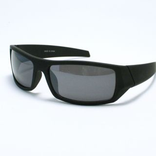Soft Matte Bikers Sunglasses for Men Designer Shades New White Black