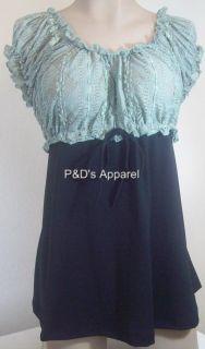New Womens Maternity Clothing Green Black s M L XL Shirt Top Blouse