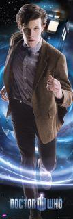 Dr Who   11th Doctor   Matt Smith   Huge Door Poster
