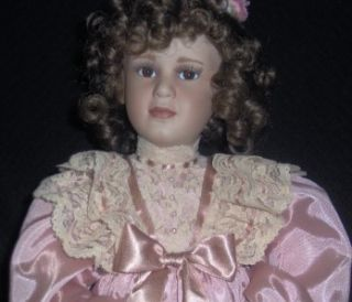 Mary Elizabeth and Her Jumeau Porcelain Doll by Pamela Phillips