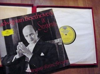 Definitive Fricsay – Beethoven Symphony 9 – DGG Deluxe Box 138 002