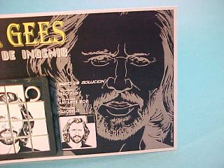 Bee Gees Barry Robin Maurice Gibb Slide Sliding Puzzles Skill Games
