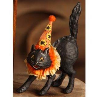 Mary Engelbreit Halloween Spook Black Cat w Hat B Lowe Halloween