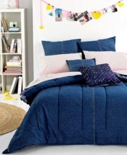 Ralph Lauren University Denim Blue Twin Duvet Cover