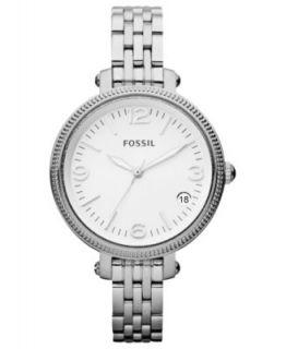 Fossil Watch, Womens Heather Mini Stainless Steel Bracelet 26mm